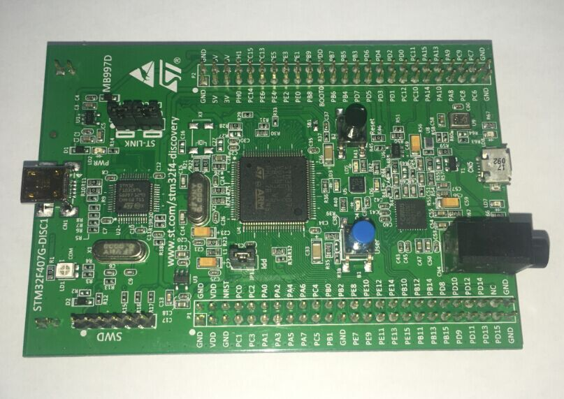 STM32F4DISCOVERY STM32F407 STMicroelectronics Discovery kit-[JYWY