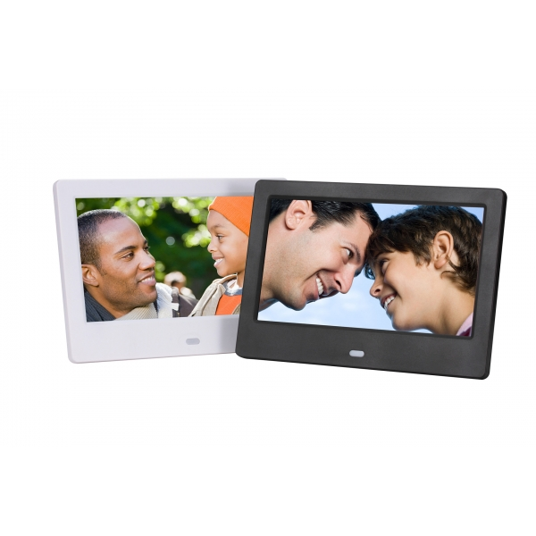 Digital Photo Frame 7 inch with multifunctional metal casing ...
