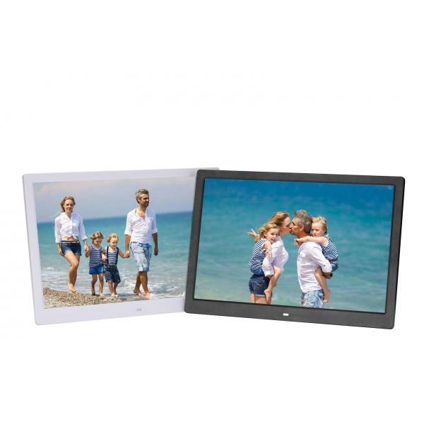 customized LED Digital Photo Frame 15 inch Multifuction advertising ...